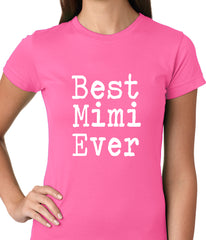 Best Mimi Ever Ladies T-shirt