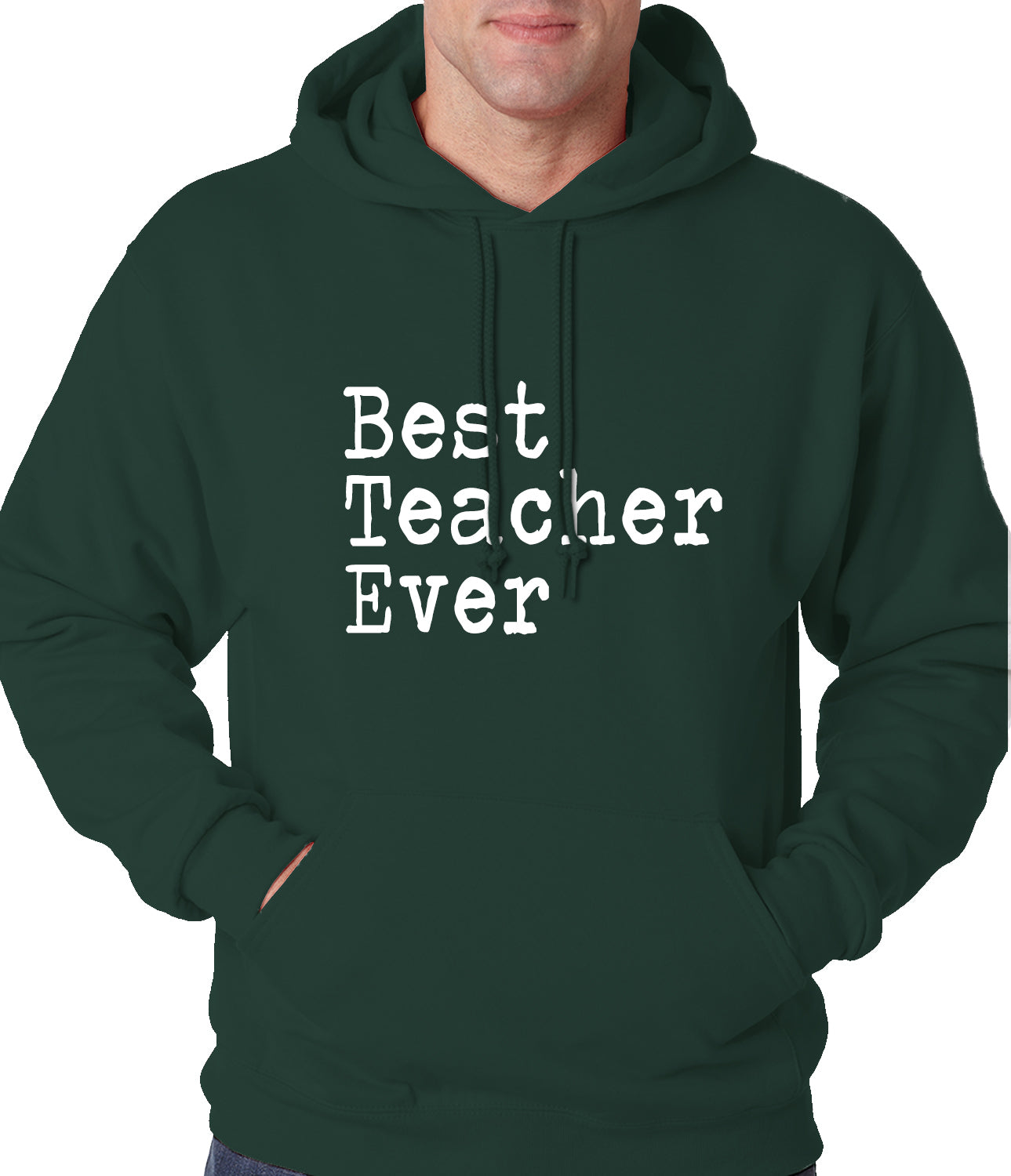 Best Teacher Ever Adult Hoodie