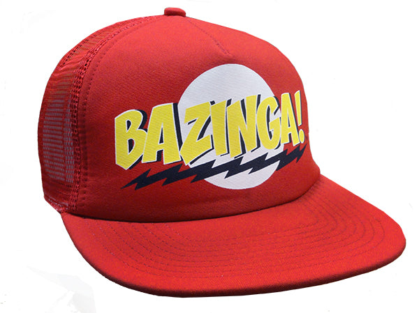 Big Bang Theory Bazinga! Trucker Hat (Red)