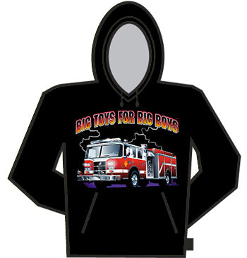 Big Toys For Big Boys Hoodie