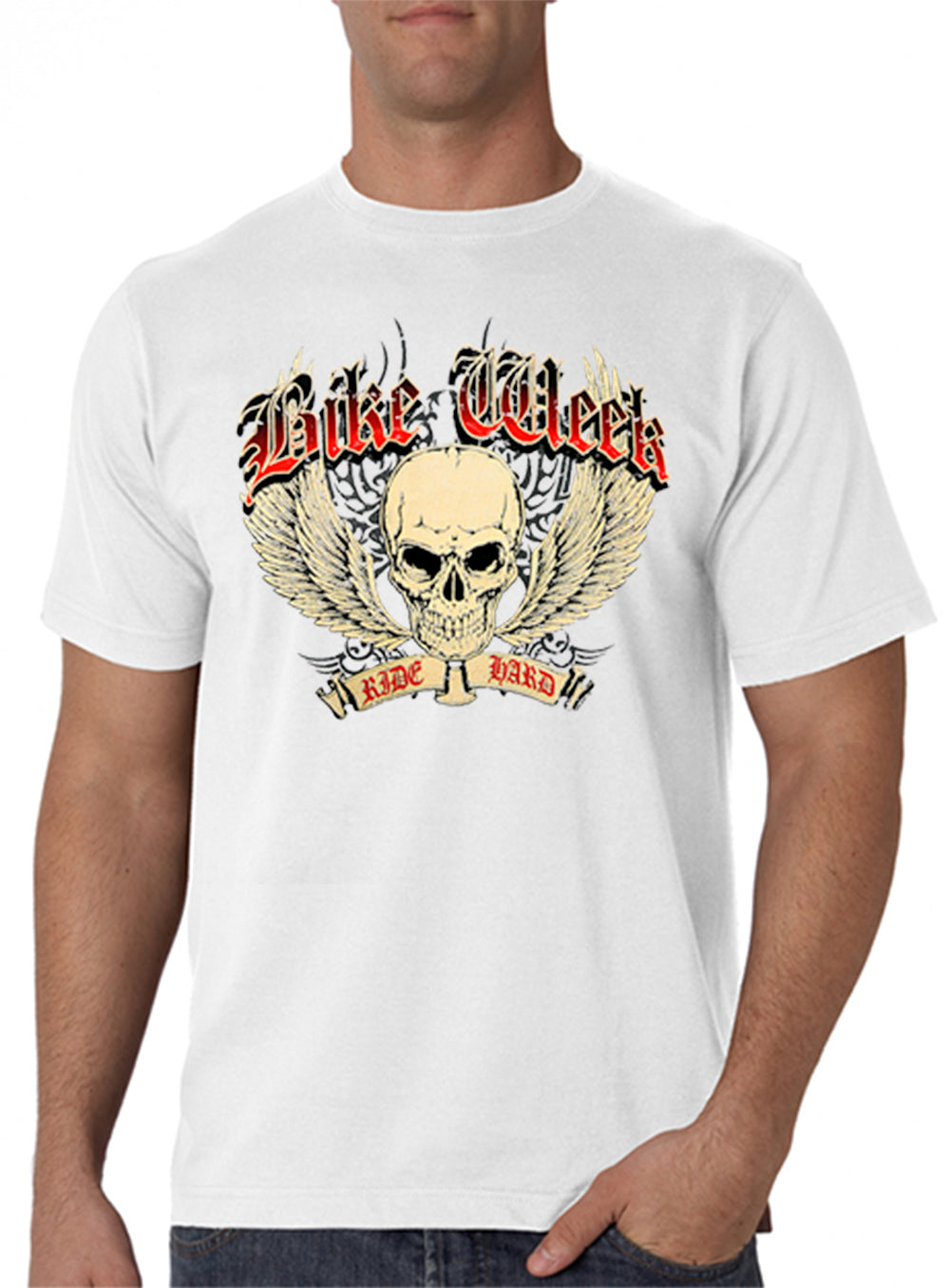 e1890b9ed Bike Week Ride Hard Men's T-Shirt – Bewild