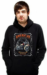 "Biker Hoodies - ""Forged in Tradition"" Biker Hoodie"