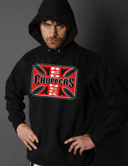 "Biker Hoodies - ""Red Neck Choppers"" Hoodie"