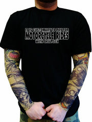 "Biker Motorcycle Shirts - ""Biker's Love Oral"" Biker Shirt"