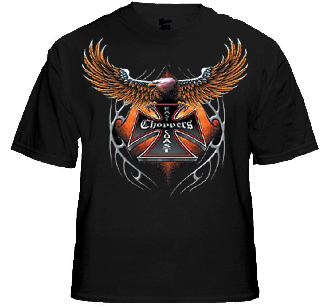 "Biker Shirts - ""Eagle Chopper"" Biker Shirt"