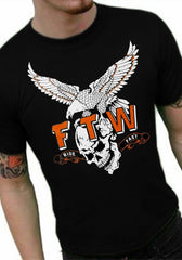 "Biker Shirts - ""FTW Ride Fast"" Biker Shirt"