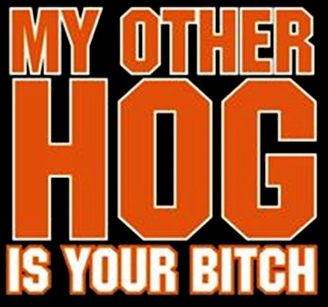 "Biker Shirts - ""My Other Hog"" Biker Shirt"