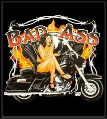 Bad Ass Biker Babe