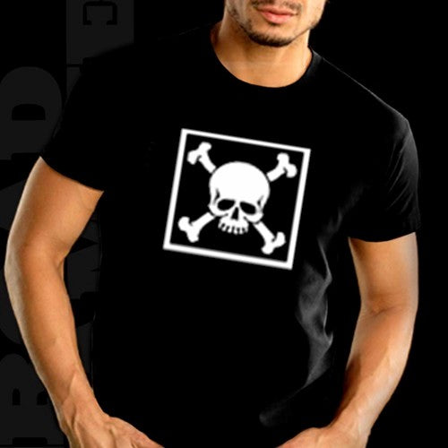 """Bones in a Box"" Biker Shirt"
