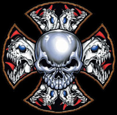 Demon Iron Cross