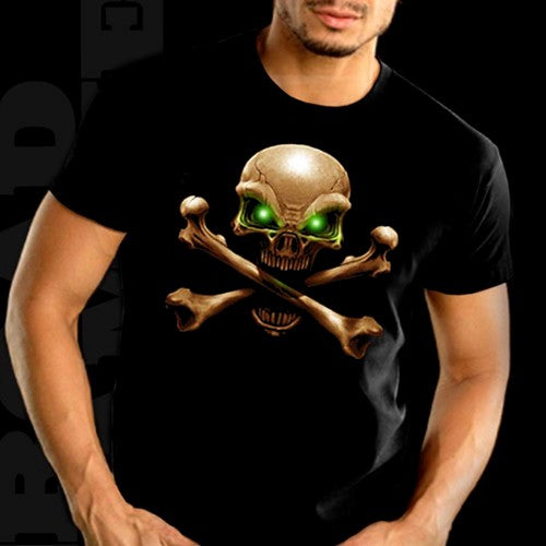 "Biker T-Shirts - ""Hypnotic Eyes"" Biker Shirt Man"