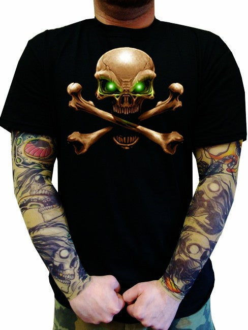 """Hypnotic Eyes"" Biker Shirt"