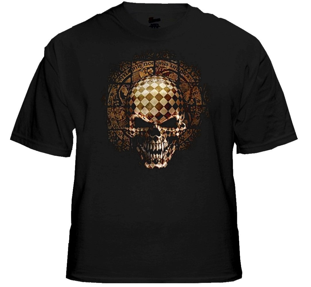 """Symbiote Puzzle Box Skeleton"" Biker Shirt"