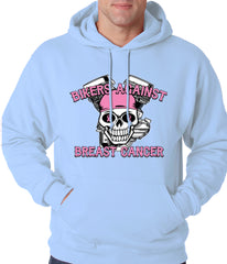 Light Blue Bikers Against Breast Cancer Hoodie