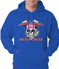 Bikers Against Breast Cancer Hoodie Royal Blue