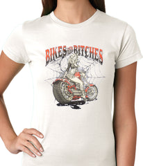 Bikes and B*tches Biker Ladies T-shirt