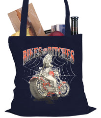 Bikes and B*tches Biker Tote Bag