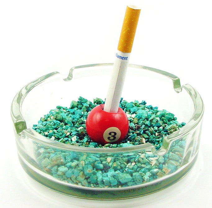Billiard Ball Ash Tray Cigarette Snuffer