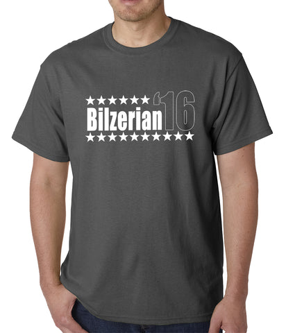 Bilzerian '16 - Vote For Bilzerian For President in 2016 Mens T-shirt
