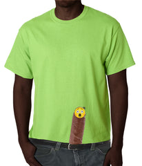 Black Guy - Ooops!!! My Wang Fell Out Mens T-shirt