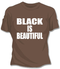 Black Is Beautiful Girls T-Shirt