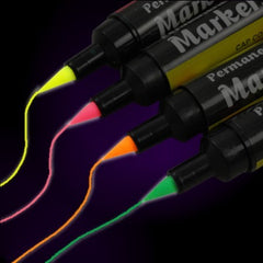 Reactive Neon Fabric Markers