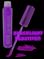 Black Light Reactive Neon Lip Gloss Purple