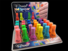 Neon Nail Lacquer (24 Pack Assorted)