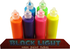 Black Light UV Reactive Neon Paint