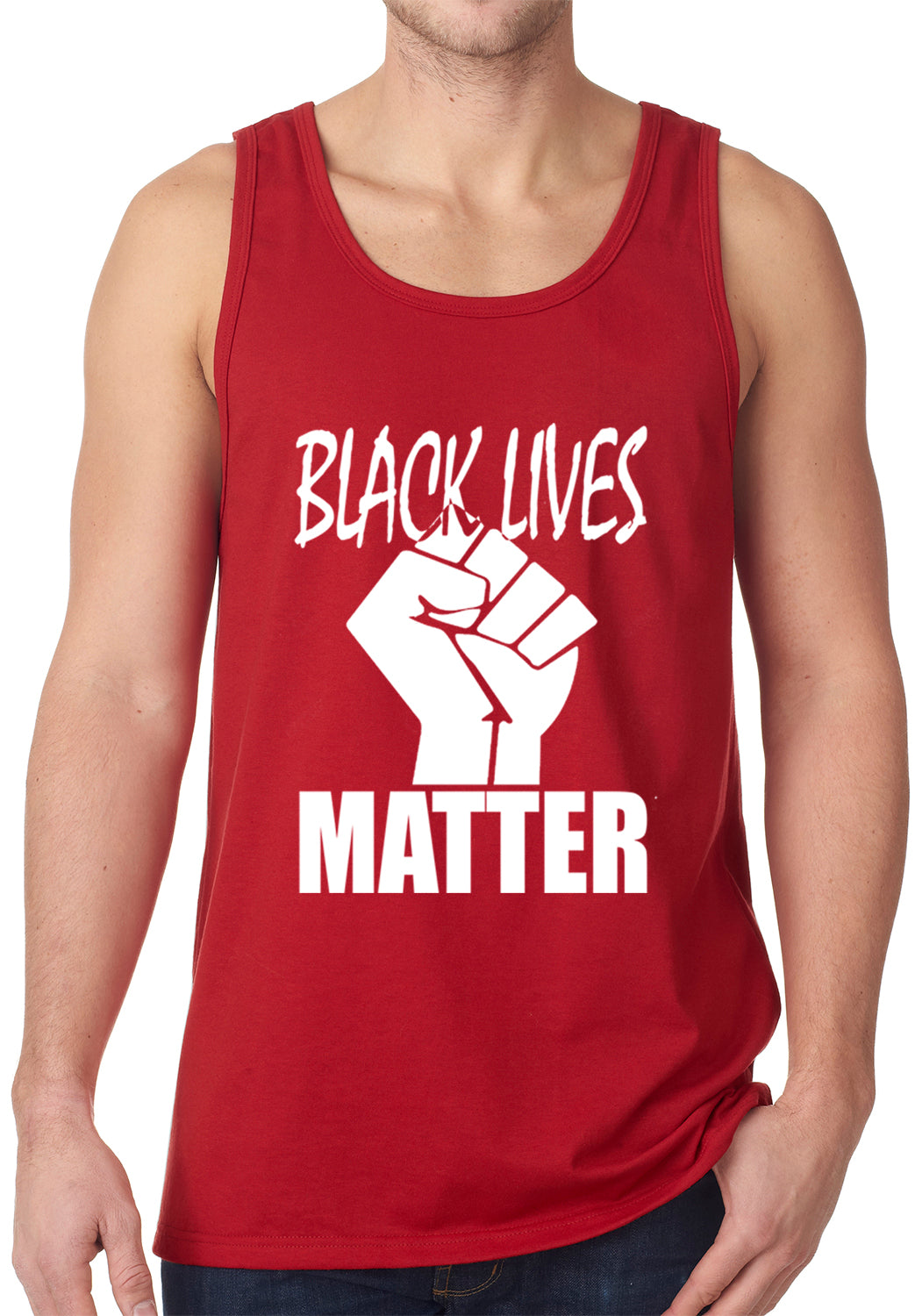 Black Lives Matter Fist Tank Top