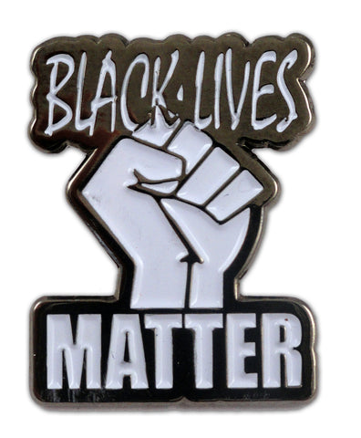 Black Lives Matter Fist Lapel Pin
