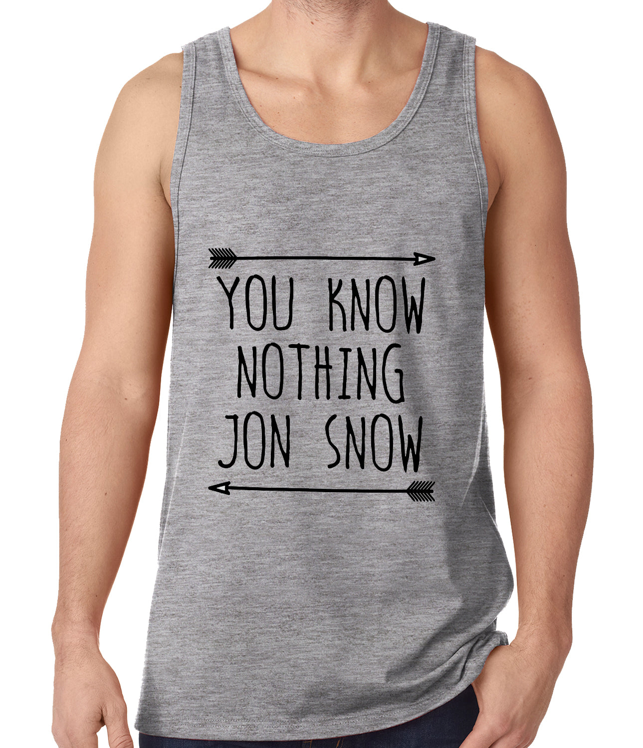 You Know Nothing Jon Snow Tank Top