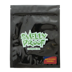 "BLACK Smelly Proof Bags - 10 Pack of Large 8.5"" x 10"" Black Bags"