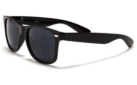 Black Vintage Wayfarer Sunglasses
