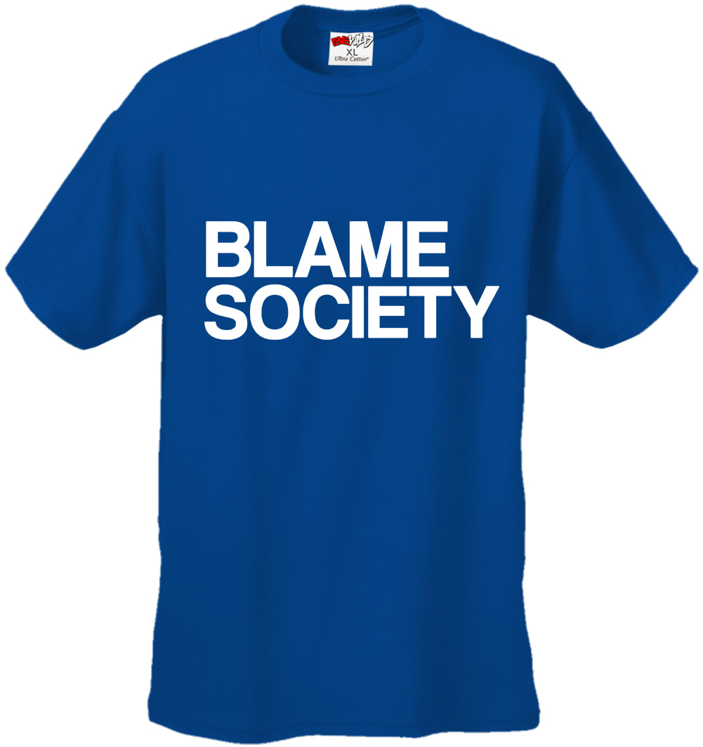 Blame Society Hip Hop Men's T-shirt