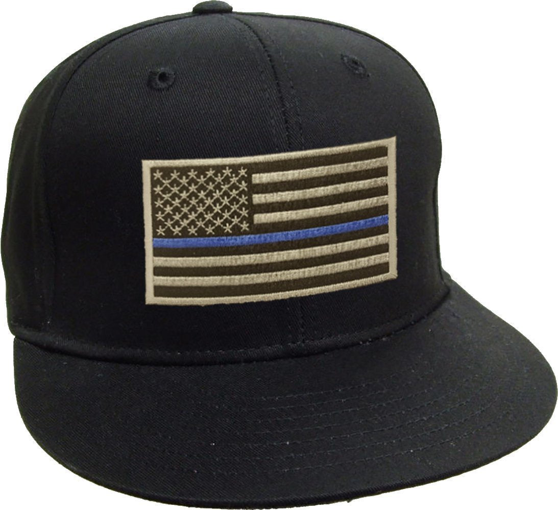 Blue Line American Flag Patch Snap Back Blue Lives Matter American Bewild