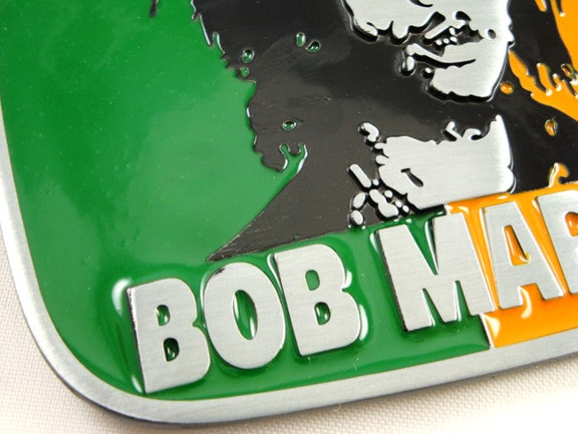 Bob Marley Belt Buckle With FREE Leather Belt