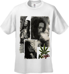 "Bob Marley ""Kaya"" Men's T-Shirt (White)"