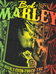 Bob Marley Kaya Now Jumbo Men's T-Shirt (Black)