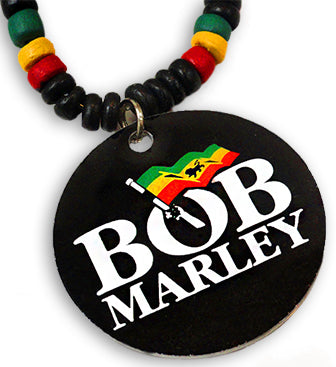 "Bob Marley ""Rasta"" Beaded Necklace"