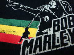 "Bob Marley ""Pointing Finger"" Black Skull Cap Beanie"