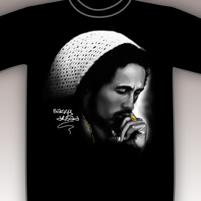 Bob Marley Thinking T-Shirt