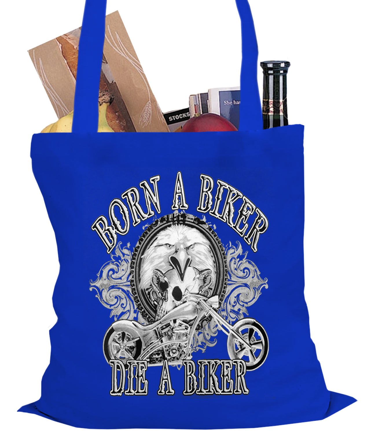 Born to be a Biker Tote Bag