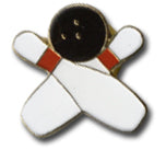 Bowling Pin And Ball Lapel Pin