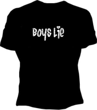 Boys Lie Girls T-Shirt
