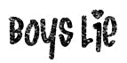 Boys Lie Girls T-Shirt (Mens)