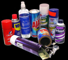 Brake Parts Cleaner Diversion Safe Can