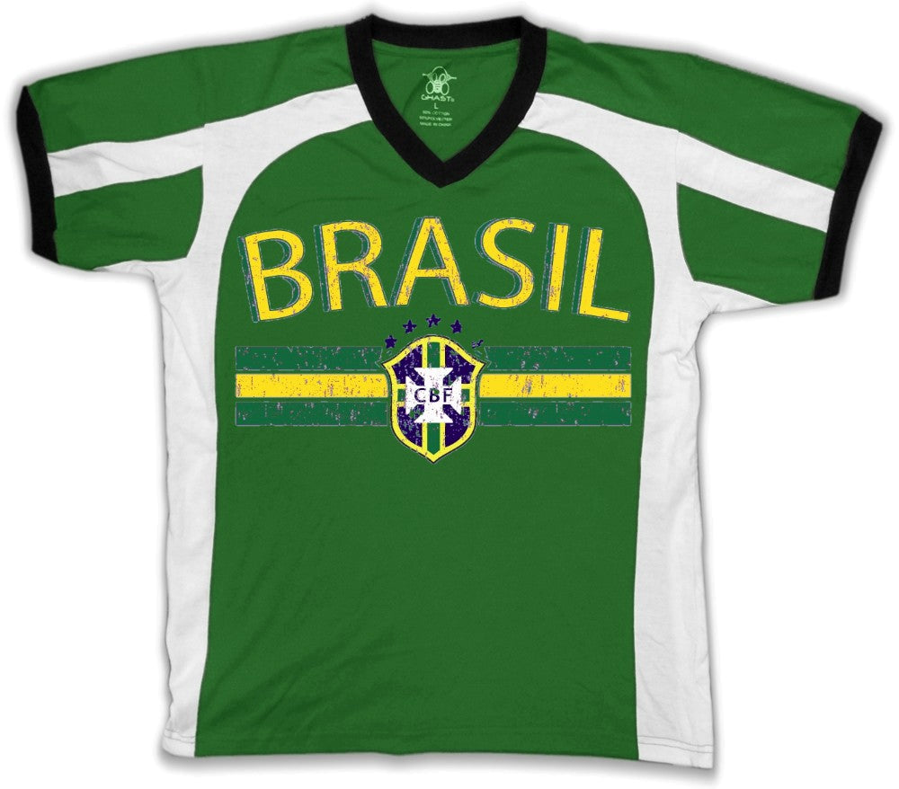 Brasil Vintage Shield International Sport Tee