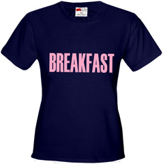 Breakfast Girl's T-Shirt