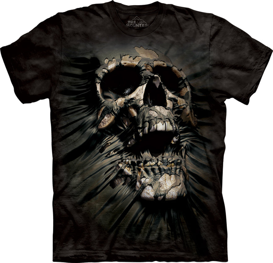 Breakthrough Skull Big Face Men's T-Shirt